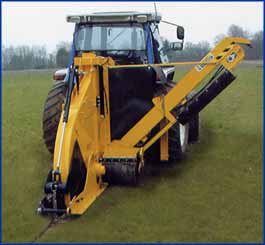 image of whizz wheel trencher